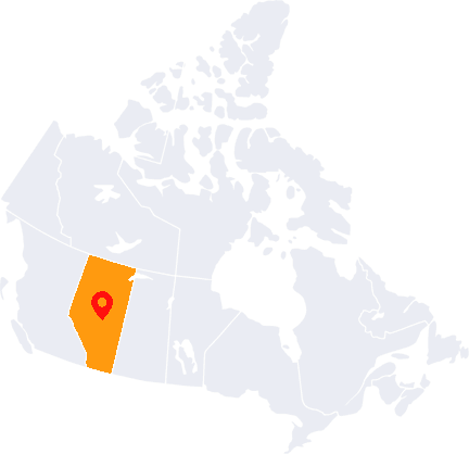 Map Highlight Edmonton